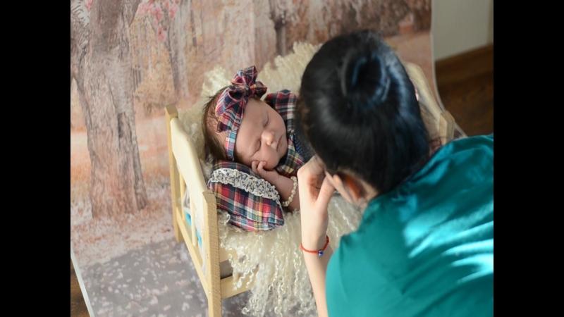 Съемка новорожденного- Фотогра Цырятьева Ольга г.Тюмень