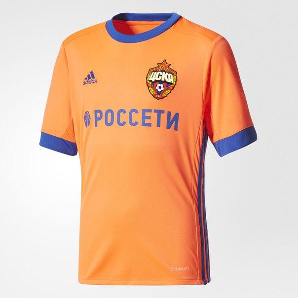 Выездная игровая футболка ЦСКА