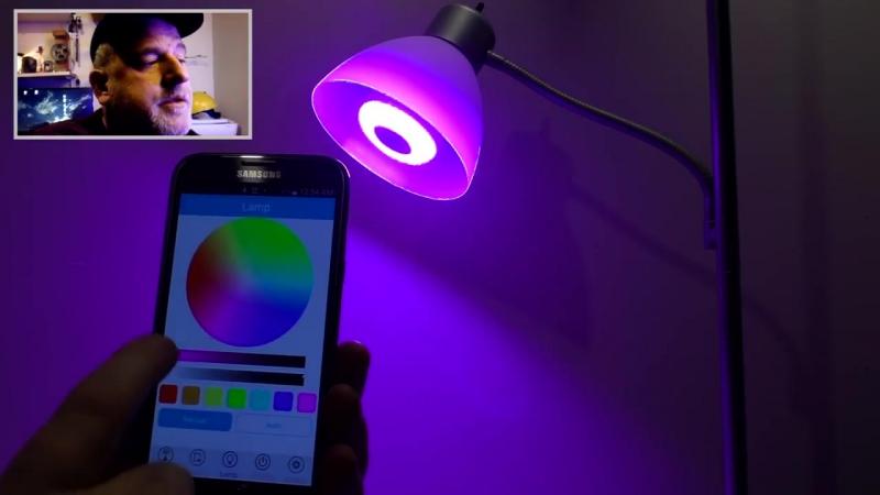 Умная Светодиодная Лампа с динамиком и Bluetooth 3.0!🎤⚡