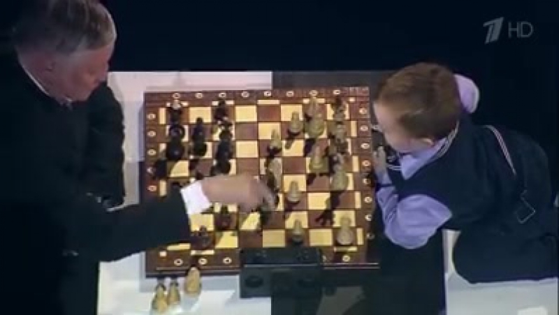 Карпов против мальчика Осипова