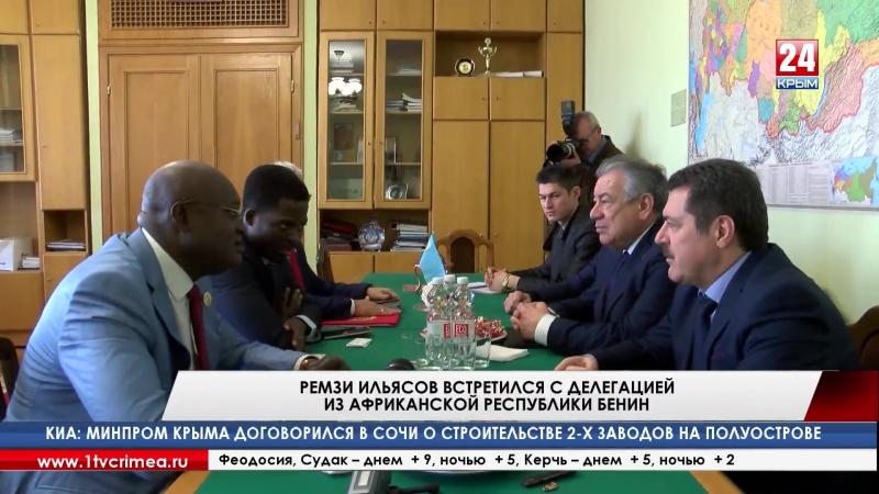 Р. Ильясов - африканцам: «Санкции в отношении России мешают не только нашему государству, но и западным странам» Эту мысль необх