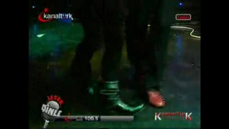 Хазал и Ahmet Hakan в ритме танго на передаче