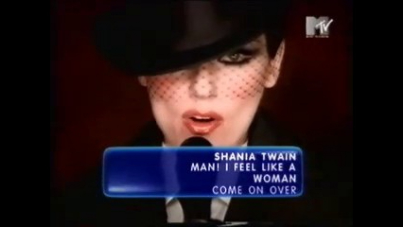 Shania twain - man i feel like a woman mtv