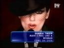 shania twain - man i feel like a woman mtv