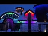 Светодиодная подсветка коттеджа в Красном селе