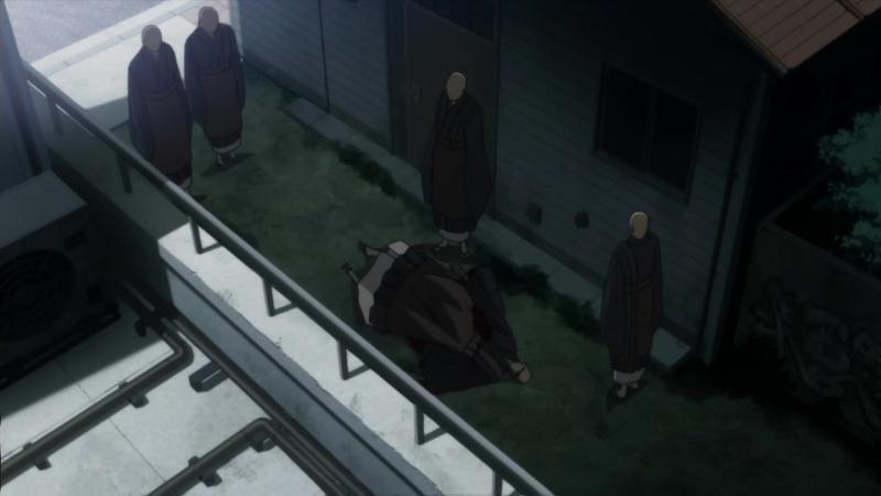 Принцесса немертвых Красная хроника Shikabane Hime Aka - 8 серия [AniDub]