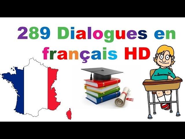 4 heures parler francais couramment avec dialogues faciles