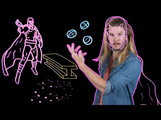 How Much Power Does Magneto Need to Rip Iron from Blood (Because Science w Kyle Hill)