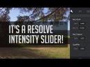 Intensity Slider In Resolve! - Easy Way To Adjust Grades LUTs!