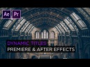 Motion Graphics Workflow from After Effects to Premiere
