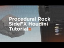 Procedural Rock Houdini Tutorial