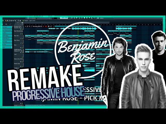 Remake Professional Progressive House 2018 2 Falling (Pick Me Up) [ Mastered Vocals] FLP