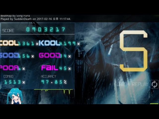 Osu mania 6 35★ Camellia Ghost Immortal Night Guard