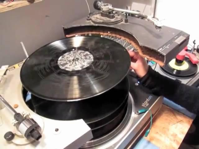 Vinyl terror and horror
