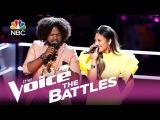 The Voice 2017 Battle - Davon Fleming vs. Maharasyi