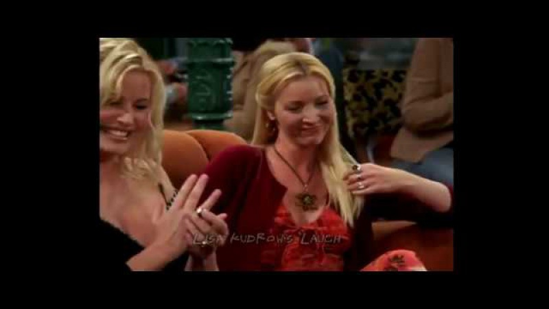 Lisa Kudrow's laugh [COMPILATION] Phoebe Buffay Friends