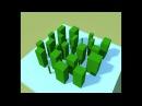 Magica Voxel: как быстро вытянуть несвязанную геометрию