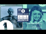 Maisie Williams HEART RATE MONITOR feat. Eddie Redmayne | GAME OF THRONES SEASON 8 SPOILERS (!?)