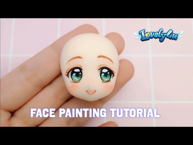 Lovely4u | VO13 | Painting figure's face No2 | DIY| Drawing tips
