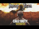 Call of Duty WW2 Parody (Guren no Yumiya) Attack On Titan Op1