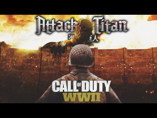 Call of Duty WW2 Parody (Guren no Yumiya) Attack On Titan Op1