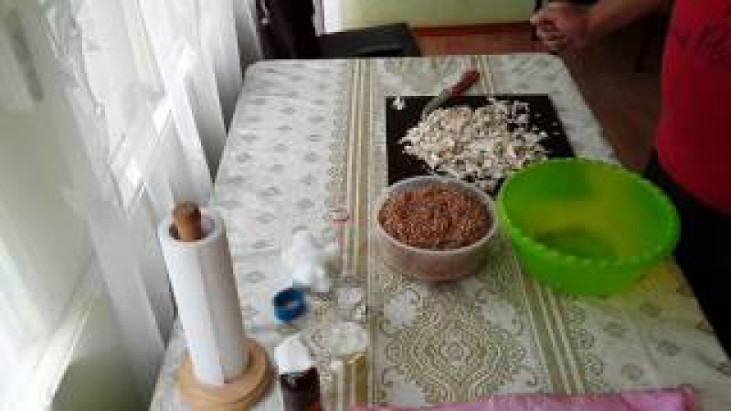 Как сделать зерновой мицелий вешенки дома! Для выращивания на ПЕНЬКАХ! Упрощённый, легкий вариант.