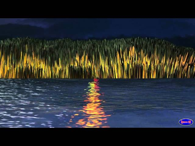 Free HD Footage Video CG Effect Fantasy Island Dream Animation by Creator Space 3D