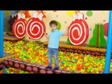 Indoor Playground Family fun Play Area for Kids Baby Nursery Rhyme song for Children kids song