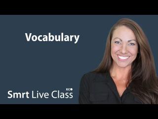 Vocabulary - Pre-Intermediate English with Abby #31