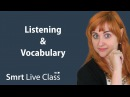 Listening Vocabulary - Pre-Intermediate English with Nicole 9