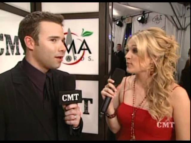 Carrie Underwood - CMA Red Carpet Interview (November 5, 2005)
