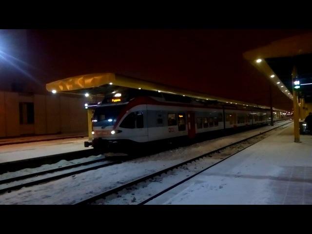 Электропоезд ЭПГ 003 отправляется из Минска EPG 003 sent from Minsk