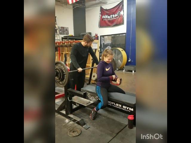 Bench Press 73kg*3 (160lb)