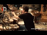 Simon Phillips &amp Gavin Harrison Drum Center Performance Two  iDrum Magazine Archives