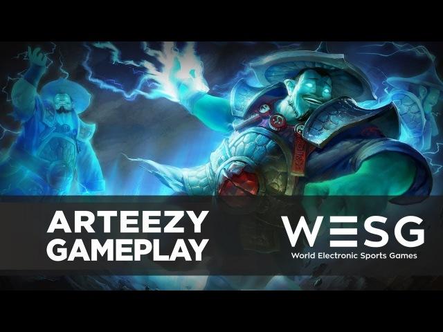 Arteezy (Storm Spirit) OCAN vs P4F @ WESG 2017