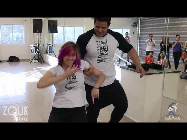 Baila Mundo José Roberto e Bruna Kazakevic Zouk Day Congress 2016