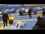 European Open BJJ 2014 White belt Adult Light feather 64 1 16 Final SHAMIL MAGOMEDOV Lion Yaakob