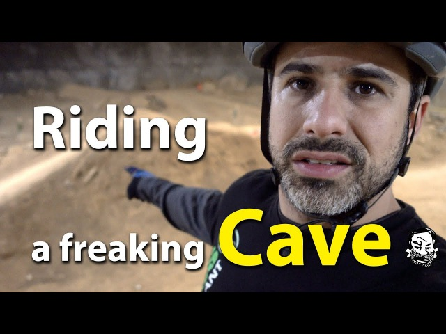 Riding Sketchy Lines with Phil at the Megacavern