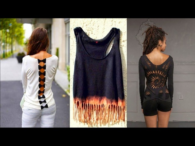Easy DIY Clothes Life Hacks 2017 👗 DIY T Shirt Crafts DIY Ideas for Girls DIY Room Decor