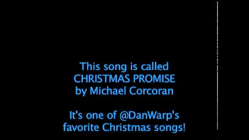 Song CHRISTMAS PROMISE Avail on iTunes
