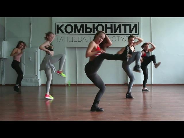 Vybz Kartel - BRACE BACK | Choreo by DHQ Anna Stukacheva. Tyumen, 17.02.18