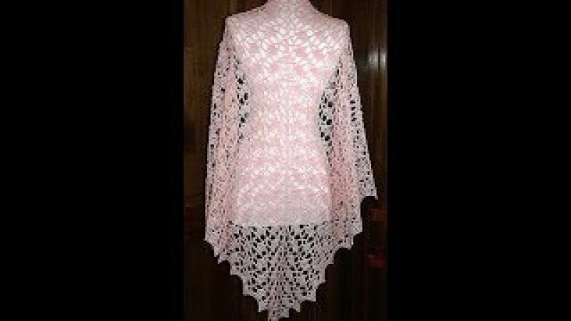 Crochet chal facil y elegante