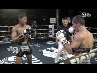 KHMER THAI FIGHT 2017 | LAO CHETRA VS KAZBEK ALISULTANOV