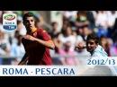 Roma - Pescara - Serie A 2012/13 - ENG