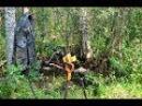 Коп по войне Война в болотах Блиндаж с колотухами Searching with Metal Detector