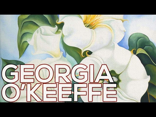 Georgia O'Keeffe: A collection of 294 paintings (HD)