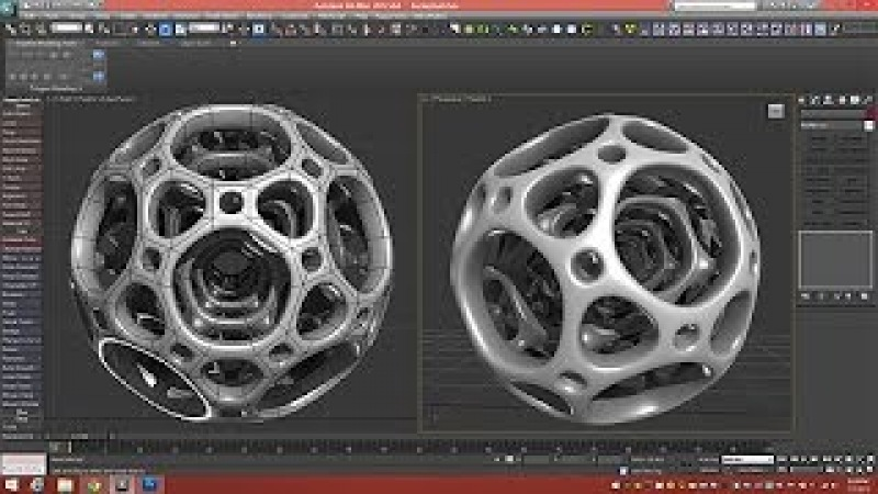 3d Tutorial | Nested Dodecahedron | 3dsmax