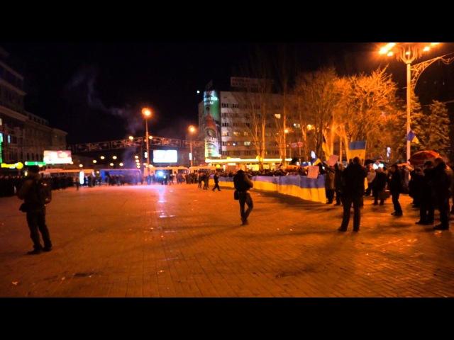 13 марта 2014. Донецк. Антивоенный митинг в Донецке 13.03.2014 (начало)