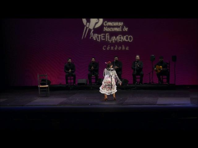 Maria Moreno en el XXI Concurso Nacional de Arte Flamenco, Córdoba