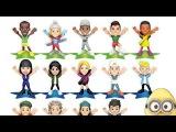 KINDER JOY TEEN IDOLS - Lewis Hamilton, Serena Williams, Cody Simpson - Eggs and Toys TV